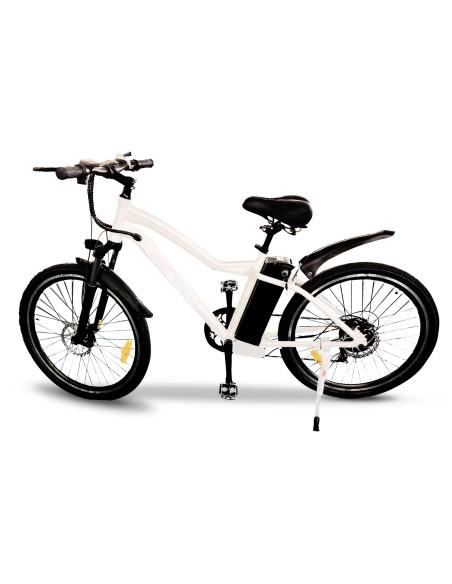 vélo électrique mixte blanc easy-watts