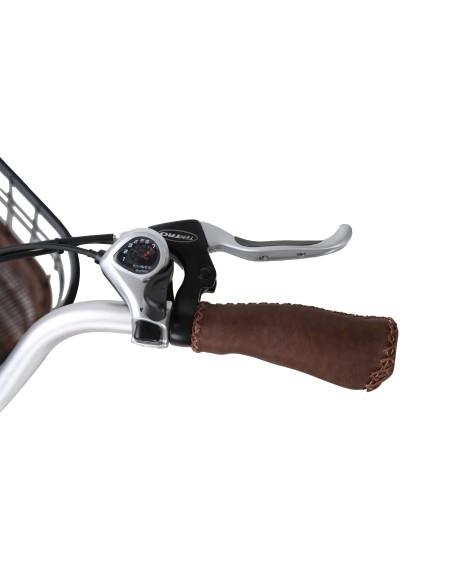 transmission SHIAMNO fiable pour ce vélo électrique