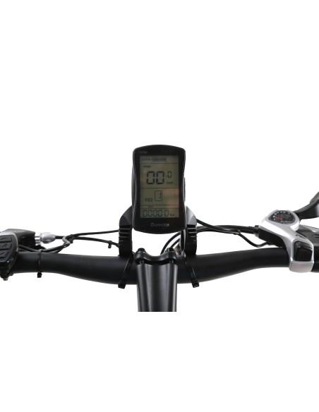 contrôleur LCD sur le guidon du vélo électrique e-fly