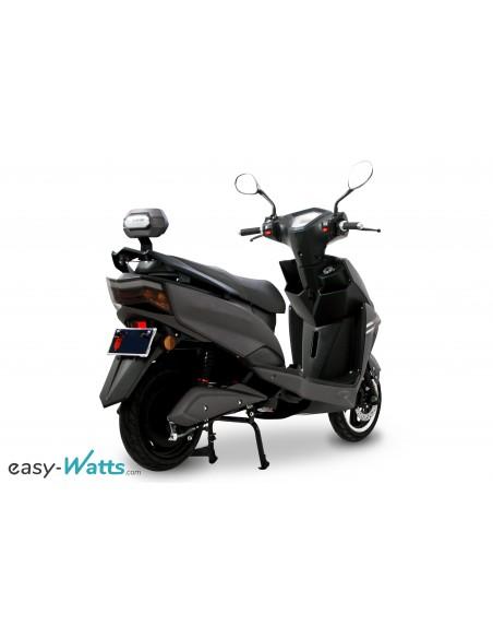 scooter électrique gris et noir easy-watts