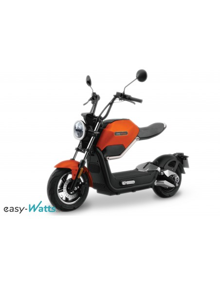 moto électrique originale : e-miku orange easy-watts