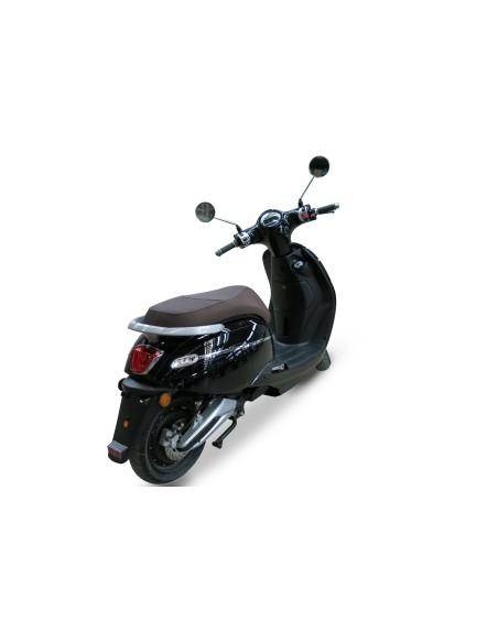 scooter électrique e-swan noir feu arrière