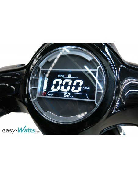 Compteur Scoot électrique e-swan noir