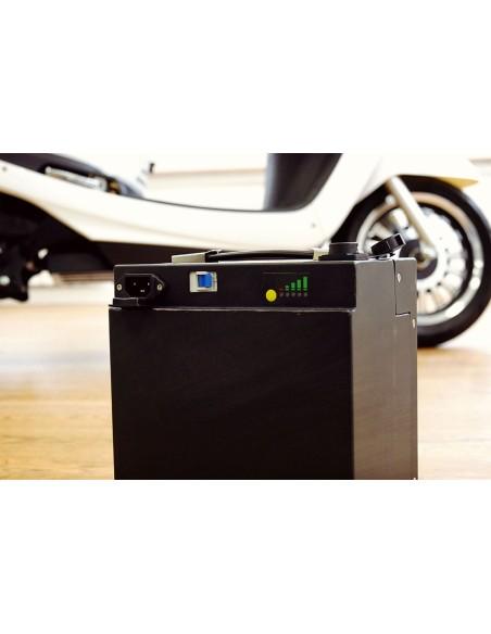 Batterie amovible scoot électrique temps de chargement 4 heures