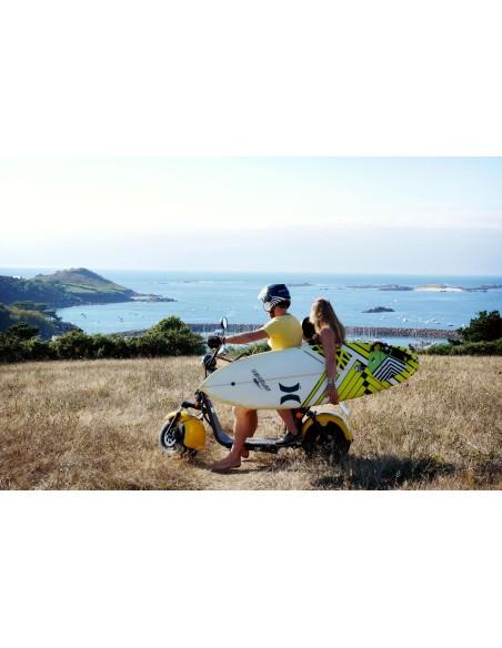 scooter électrique city coco / e-djam 6 coco beach / homologué route 45 km/h