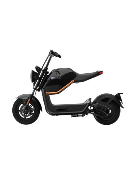 Moto électrique e-miku au look vintage et futuriste