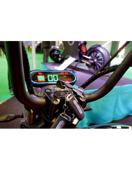 Tableau de bord e-miku écran LCD 50 cc