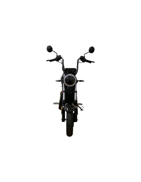 moto électrique 50 cm3 e-miku easy-watts feu avant