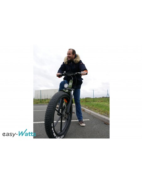 fatbike électrique grosses roues / gros pneus