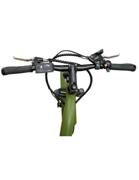 vélo fatbike electrique 3 vitesses avec dérailleur SHIMANO