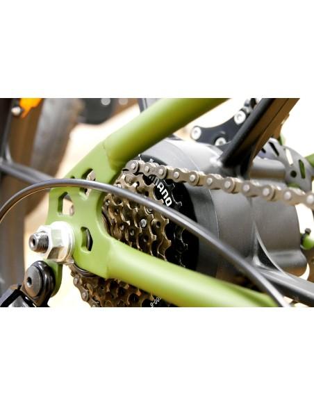 VTT fatbike électrique dérailleur SHIMANO easy-watts