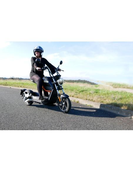 Moto électrique e-miku batterie amovible de 60 volts et 20 Ah