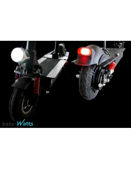 Feux avant et arrière e-scooter trottinette électrique e-Rocket MAX