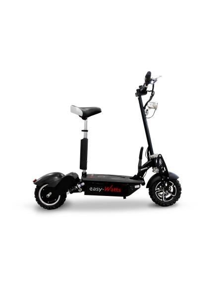 Mini scooter électrique e-monster proposant une vitesse maximale de 35 km/h