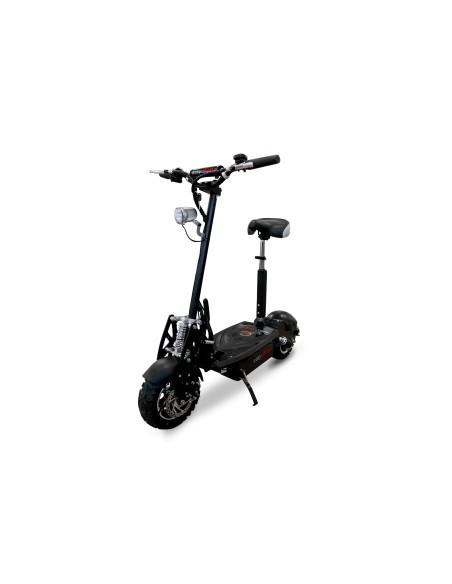 Trottinette à siège électrique e-monster avec une autonomie de 35 km