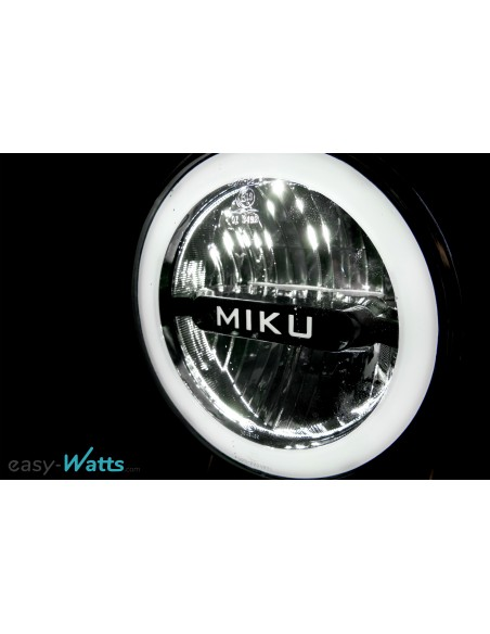 éclairage avant puissant moto électrique miku max