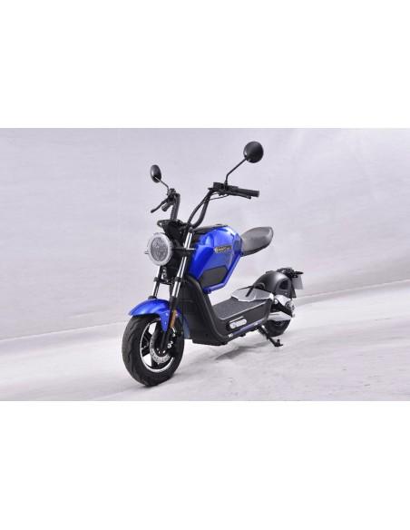 Moto électrique e-miku bleue 50 cc disponible dès 14 ans