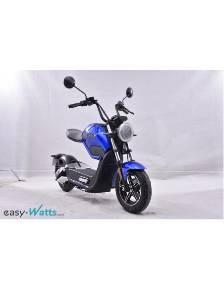 E-miku, une moto électrique à batterie amovible de 60 V et 20 Ah