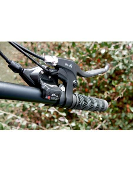 dérailleur vélo électrique e-nomad S sur le commodo droit