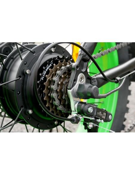Fatbike e-nomad S roue avant avec cinq niveaux