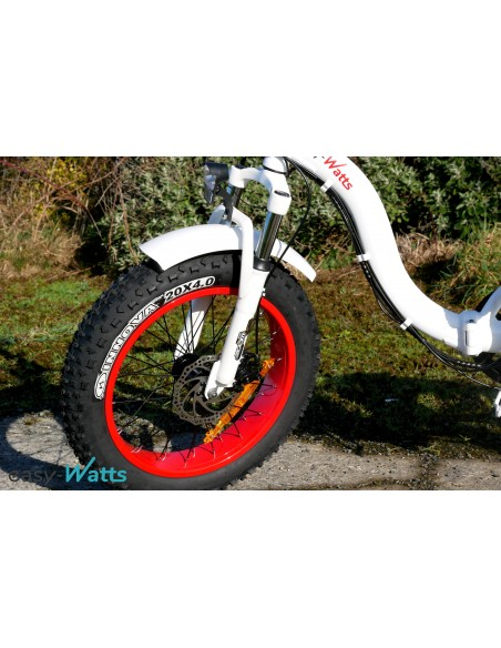 fatbike électrique pliant e-nomad S col de cygne