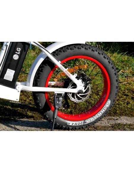 moteur brushless en moyeu de roue arrière avec disque de frein e-nomad S