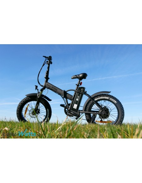 vélo à assistance électrique e-nomad 10 Ah fatbike
