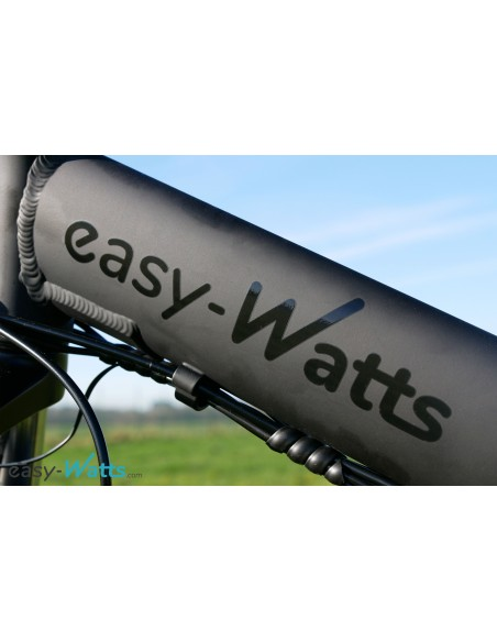 stickers noir brillant sur noir mat easy-watts e-nomad