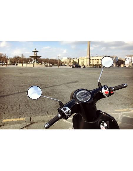 scooter électrique noir e-swan écran LCD