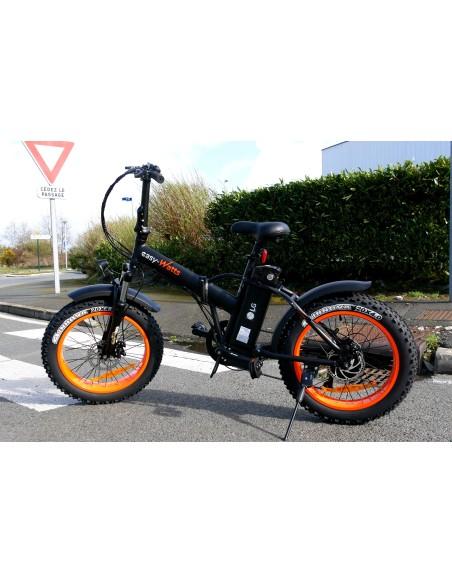 fatbike e-nomad proposant une autonomie de 50 km ou 70 km