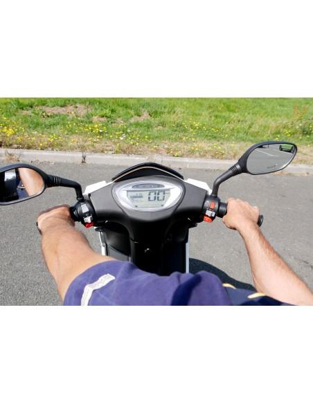 Tableau de bord du scooter électrique e-stock écran LCD