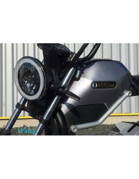 moto électrique adulte miku max gris