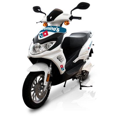 flotte scooter electrique 50 125 livreur