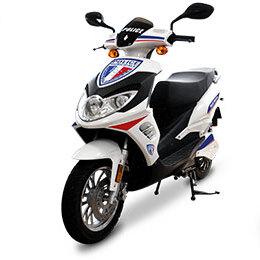 flotte scooter electrique 50 125 police