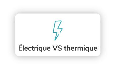 scooter electrique contre scooter thermique