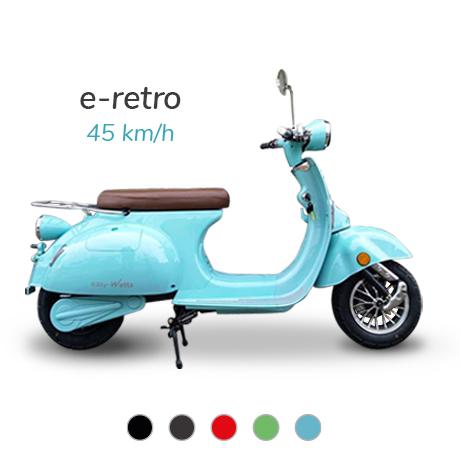 meilleur scooter electrique 50 e-retro