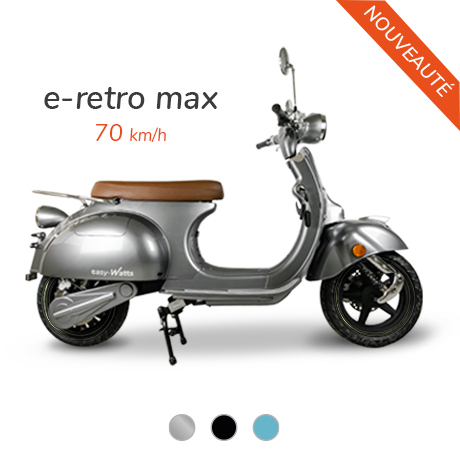 meilleur scooter electrique 125 e-retro max