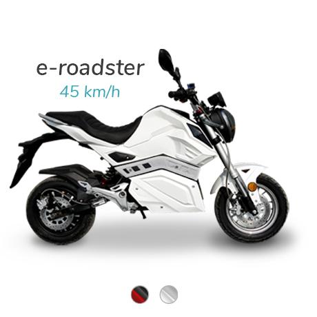 meilleur scooter moto electrique 50 e-roadster
