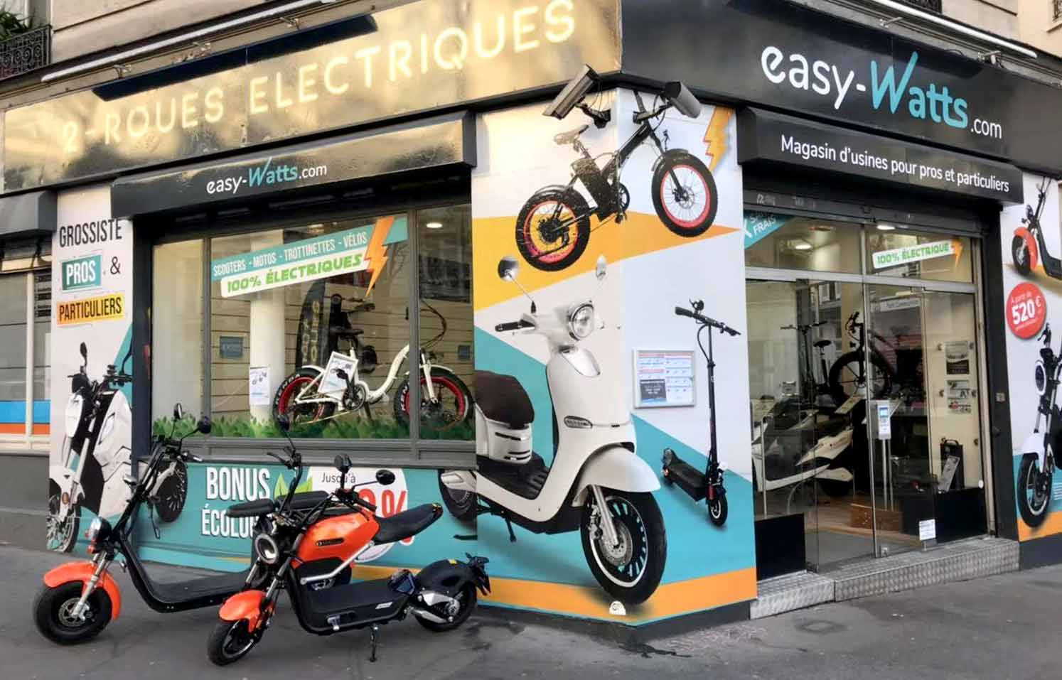magasin scooter et trottinette électrique paris