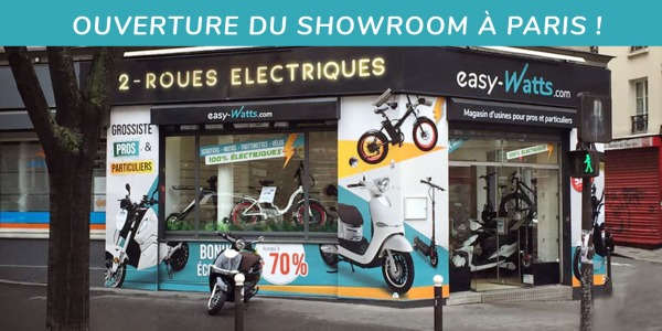 Ouverture du showroom à Paris !
