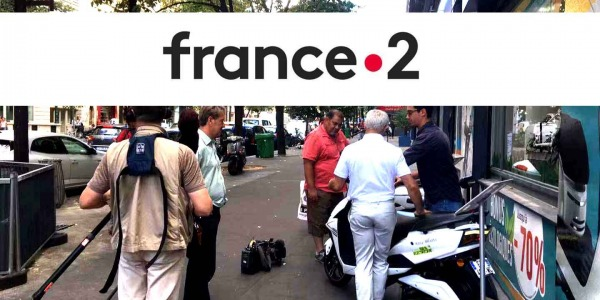 France 2 en tournage chez easy-watts